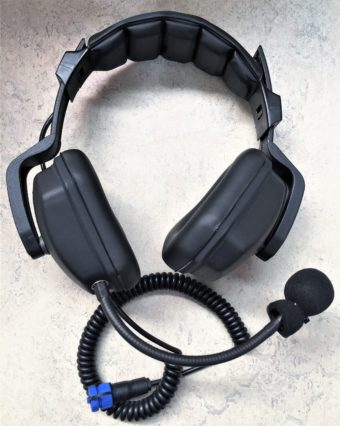 Headset with boom Microphone